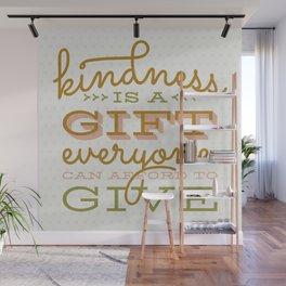 Kindness Wall Mural