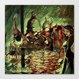 Rusalka: Москва (Fall Morning) Canvas Print