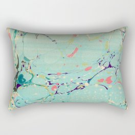 Abstract Painting ; Lagoon Rectangular Pillow