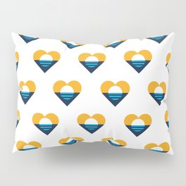 Heart of Milwaukee Pillow Sham