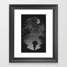 Stormy Night Framed Art Print