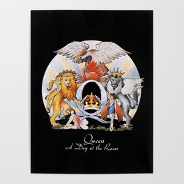 Queen - A Day at The Races Poster