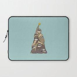Christmas Tree  Sloths Laptop Sleeve