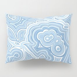 Blue Lace Agate Pillow Sham