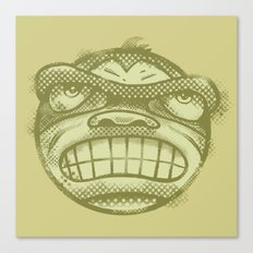 Monkey face Canvas Print