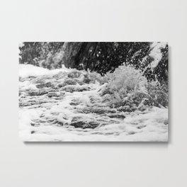 Splashing Water 1 Metal Print