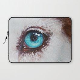 Husky's eye Laptop Sleeve