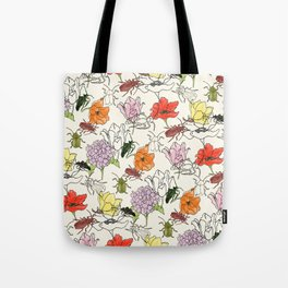 bugs -n- flowers Tote Bag
