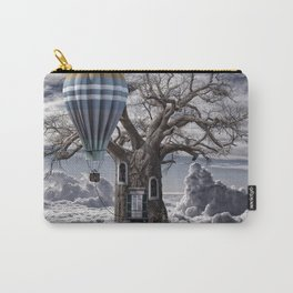 Home tree up in the clouds Carry-All Pouch