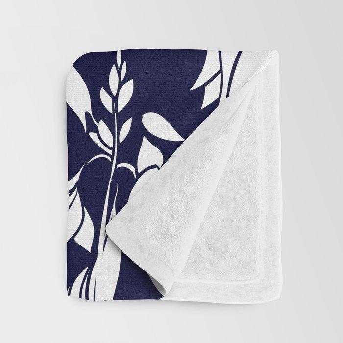 Floral design Throw Blanket