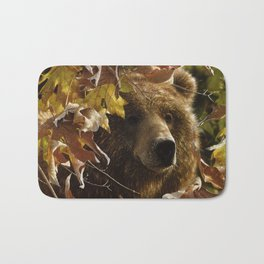 Grizzly Bear - Legend of the Fall Bath Mat