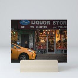 New York 9 Mini Art Print