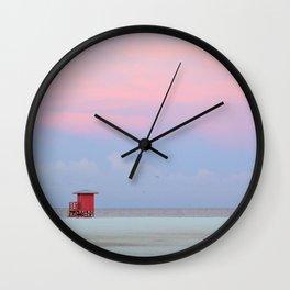 Sunrise on Siesta Wall Clock