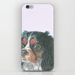 Cavalier King Charles Spaniel , Jiri Bures original art and design iPhone Skin