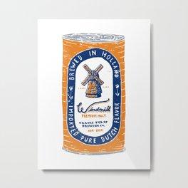 Windmill Premium Malt Metal Print