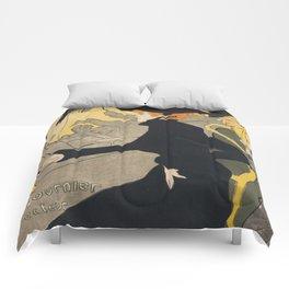 Henri De Toulouse Lautrec Divan Japonais Comforters
