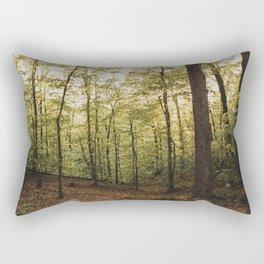Northern Virginia Forest Rectangular Pillow
