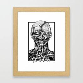 Blossom Surgery : Head Framed Art Print