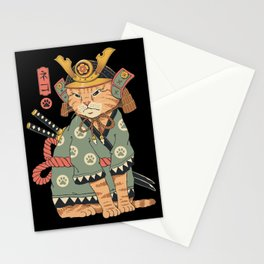 Neko Samurai Stationery Cards