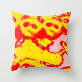 Monk Chain Throw Pillow