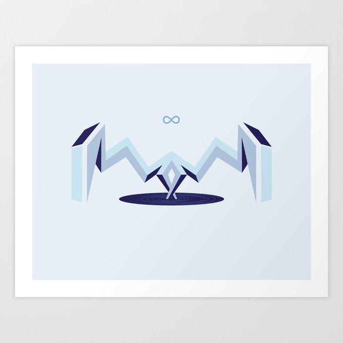 Infinity Portal Art Print