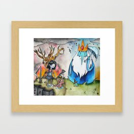 It's Ghibli Time!  Framed Art Print
