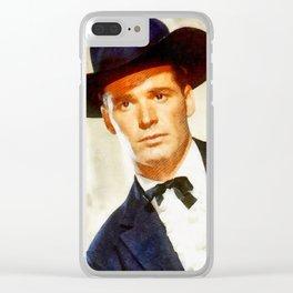 James Garner, Vintage Actor Clear iPhone Case