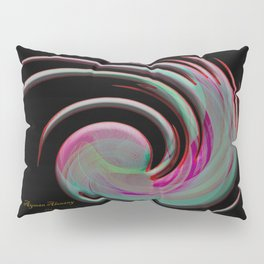 The whirl of life, W1.4B Pillow Sham