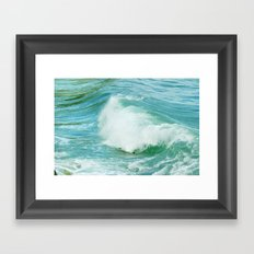 Feel the sea. Framed Art Print