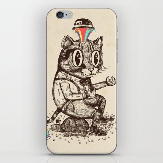 Strange Cat iPhone & iPod Skin