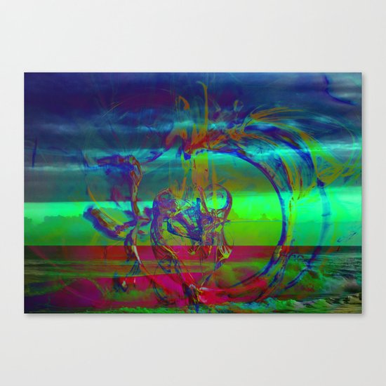 The Emerging Truth Canvas Print