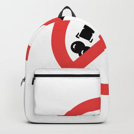 No Hammering Carpenter or Craftmans Gift Backpack