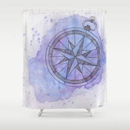 Find Me in the universe Shower Curtain