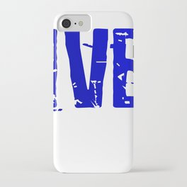 Don't let me use my Diver Voice iPhone Case