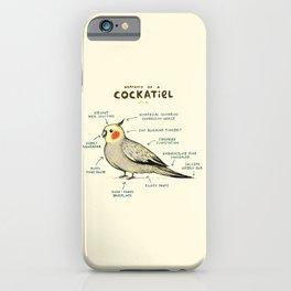 Anatomy of a Cockatiel iPhone Case