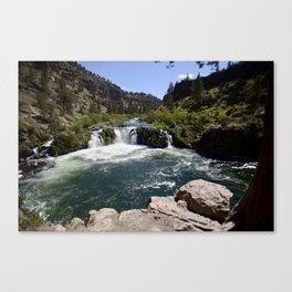 Steelhead Falls Canvas Print