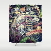 waterfall Shower Curtains featuring Waterfall by ALP-Fotografie