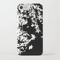 white on black Slim Case iPhone 7
