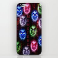 monsters iPhone & iPod Skins featuring Monsters by CLE.ArT.