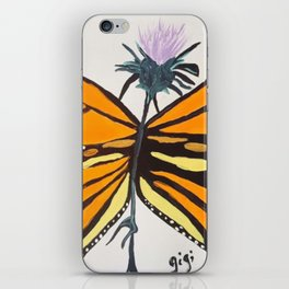 Toughest Butterfly iPhone Skin
