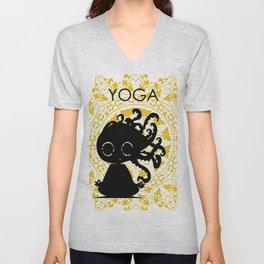 Yoga Unisex V-Neck