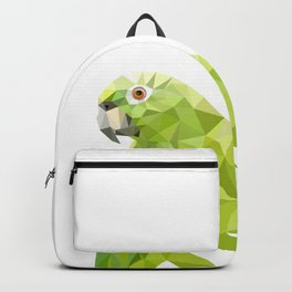 Parrot art Southern mealy amazon parrot Backpack