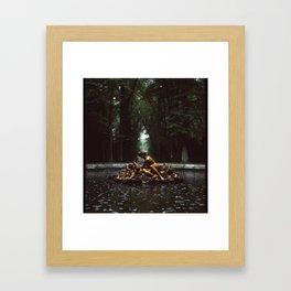 Bronze Bourgeoisie Framed Art Print