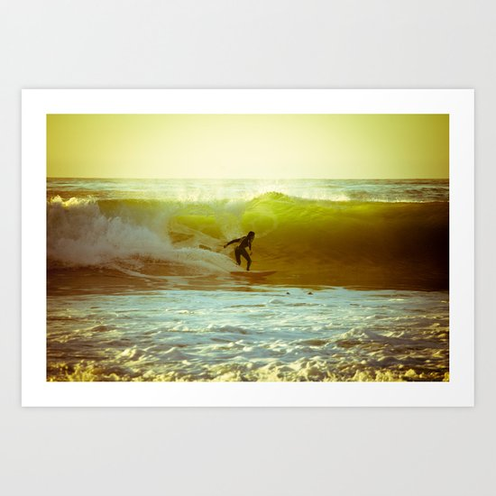 Pete's Wave Art Print
