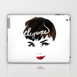 Bombshell Series: Elegance - Audrey Hepburn Laptop & iPad Skin
