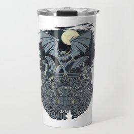 Gargoyle Midnight Arising Travel Mug