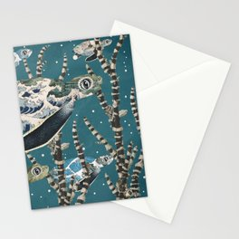 Turtle Migration Stationery Cards