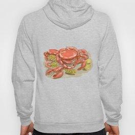 Cajun Seafood Watercolor Hoody