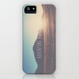 adventure awaits you ... iPhone Case
