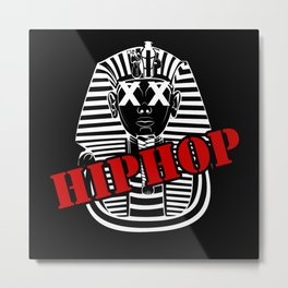 Hip Hop Music Love Metal Print